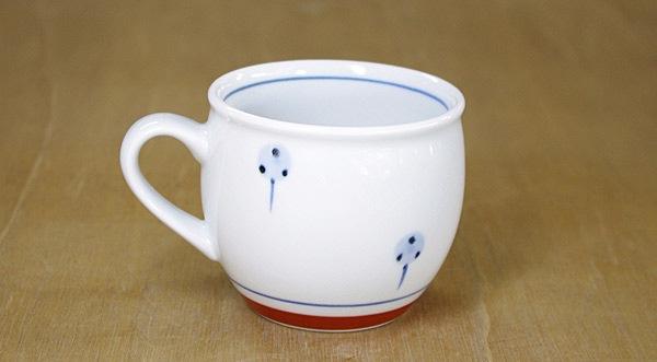 砥部焼き 梅山 マグカップ
