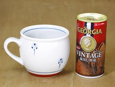 丸ミルクカップ 大きさ比較