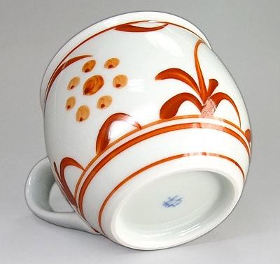 和食器 丸いマグカップ