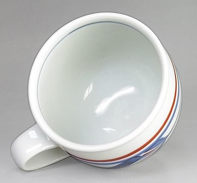 梅山窯 丸マグカップ