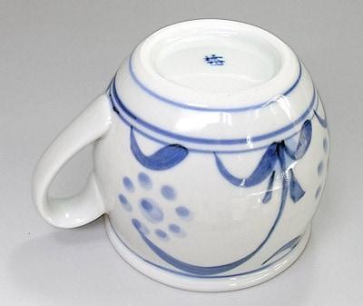 梅山窯の丸マグカップ