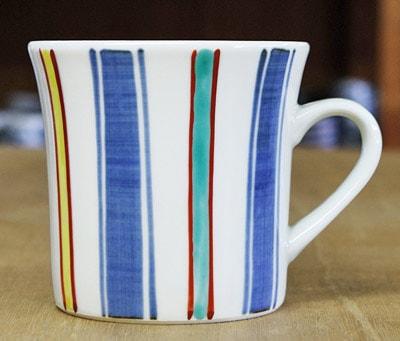梅山 反りマグカップ カラー