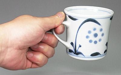 梅山窯のマグカップ