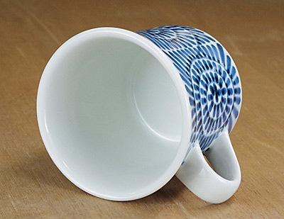 反りマグカップ 砥部焼