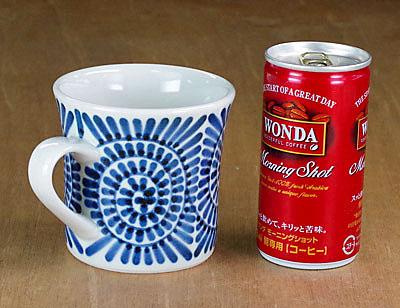マグカップ 大きさ比較 コーヒー