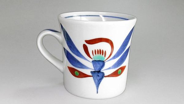 砥部焼 梅山窯 マグカップ