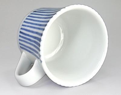 梅山窯 反りマグカップ