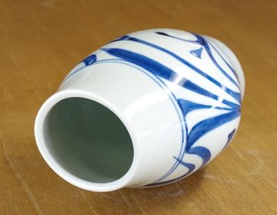 梅山窯 唐草 花瓶