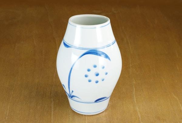 砥部焼き 梅山窯 花瓶