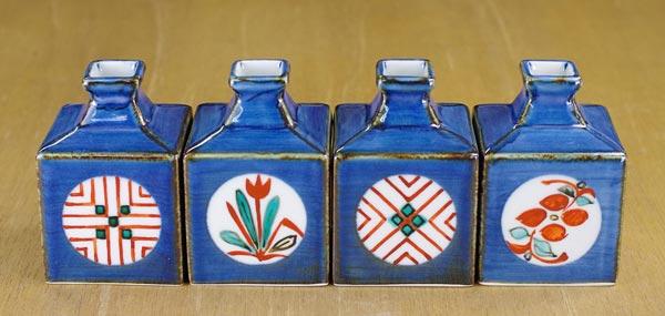 梅山窯 ミニ角瓶