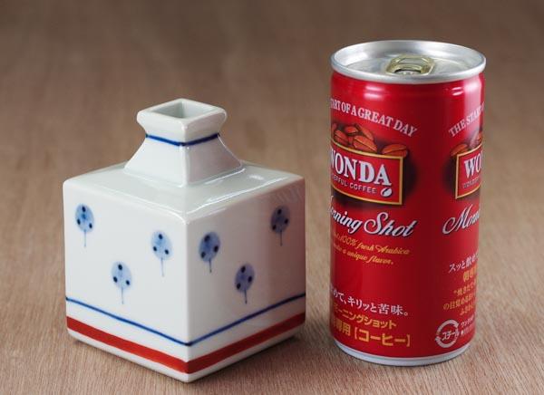 和食器 花瓶 砥部焼き 梅山窯 たんぽぽ 一輪挿し