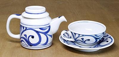 梅山窯 ティーポット ティーカップ