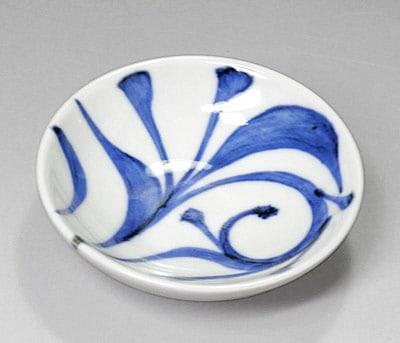 砥部焼き 梅山窯 3寸小皿