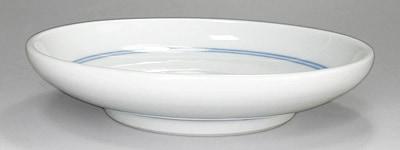 砥部焼 切立丸皿
