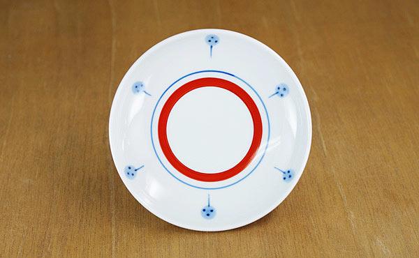 砥部焼 梅山窯 丸皿 取り皿