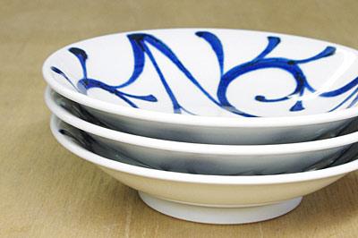 和食器 おかず皿 重なり