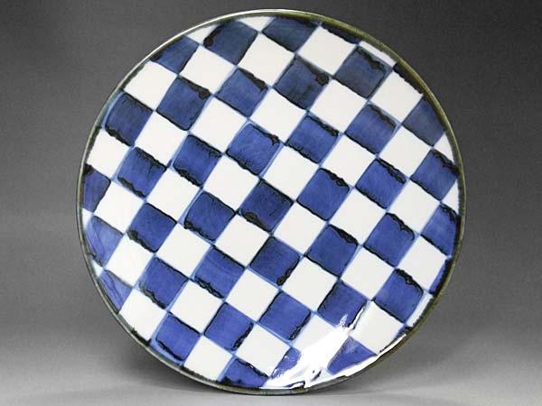 砥部焼 梅山窯の大皿