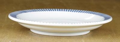 砥部焼き 梅山窯 縁付き皿