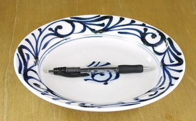 砥部焼 梅山窯 カレー皿 スープ皿