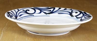 砥部焼 7寸皿 スープ皿