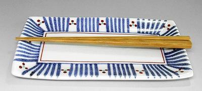 梅山窯 角皿
