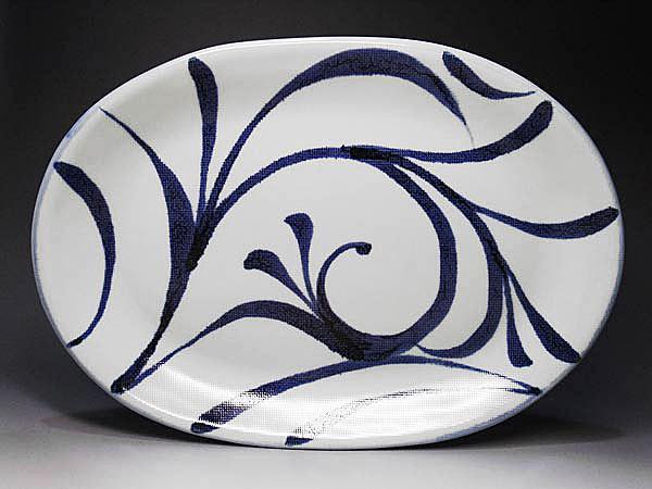 和食器、砥部焼の大皿