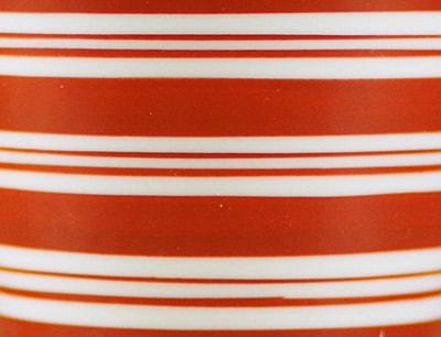 梅山窯 赤巻き赤線