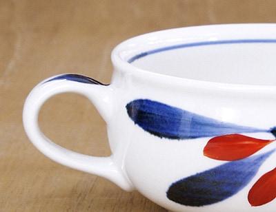 砥部焼き スープカップ 梅山