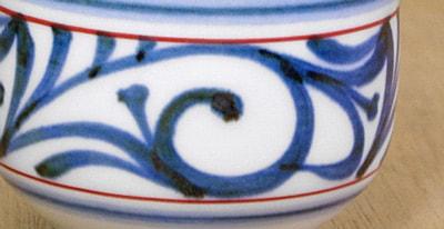 梅山窯 手描き