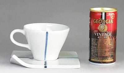 永立寺窯 コーヒーカップ 大きさ比較