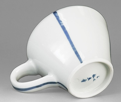 永立寺窯 シンプルなコーヒーカップ