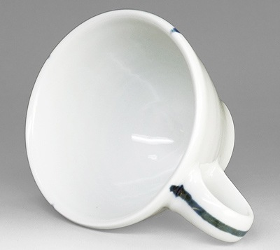 砥部焼 コーヒーカップの内側