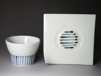 砥部焼・永立寺窯・コーヒーカップ