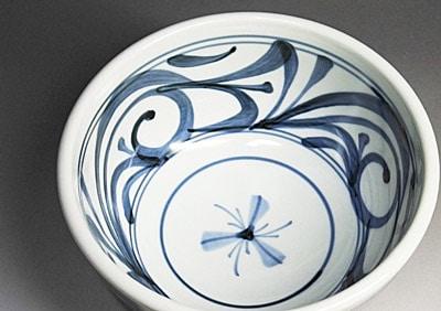 和食器、砥部焼のうどん鉢