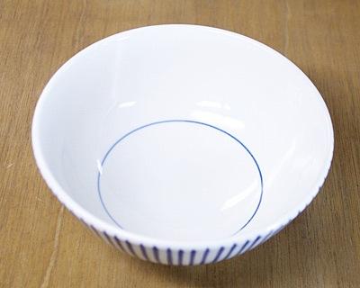 砥部焼き 梅山窯 6寸丼