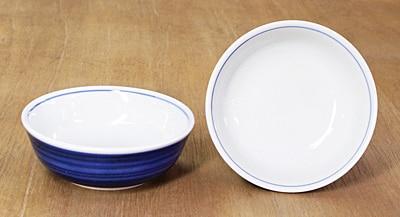 梅山窯 3.7寸平鉢 ごす巻き