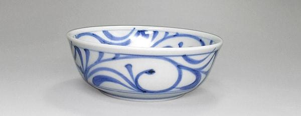 和食器 唐草文の小鉢