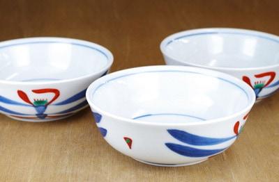 砥部焼 梅山 3.7寸平鉢