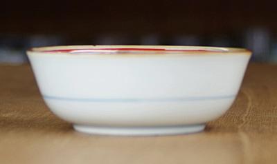 梅山 3.7寸小鉢 平鉢
