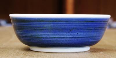 砥部焼き 梅山窯 4.7寸平鉢