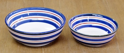 和食器 砥部焼 平鉢 大きさ比較