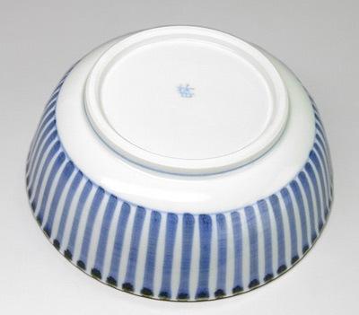 砥部焼 梅山窯 平鉢