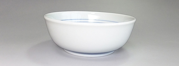 砥部焼 梅山窯 4.7寸平鉢