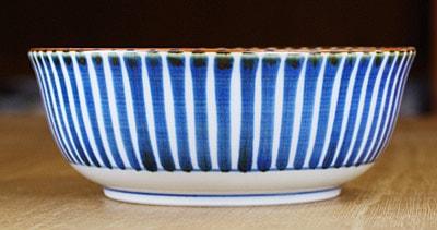 砥部焼き 梅山窯 5寸中鉢