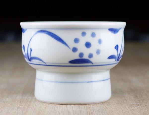 梅山窯 アイスクリーム鉢 太陽