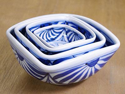四方鉢 重なり