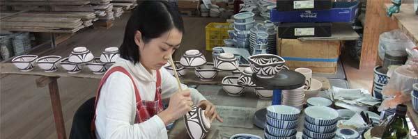 梅山窯・角鉢