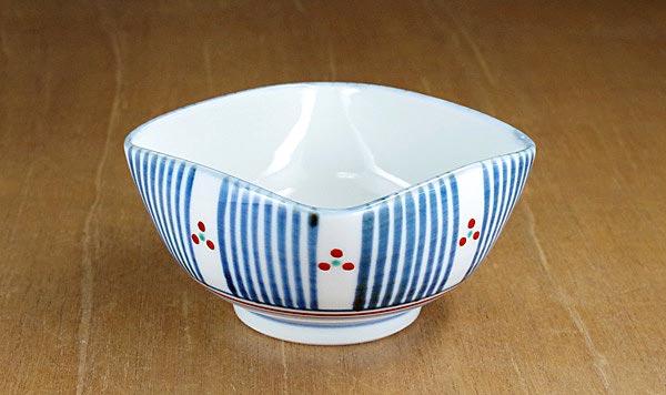 砥部焼 梅山窯 角鉢