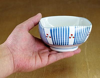 砥部焼 小鉢 角鉢