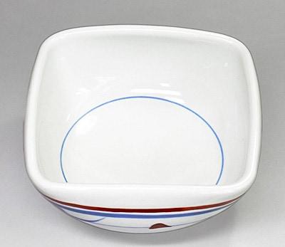 砥部焼き 梅山窯 4方鉢